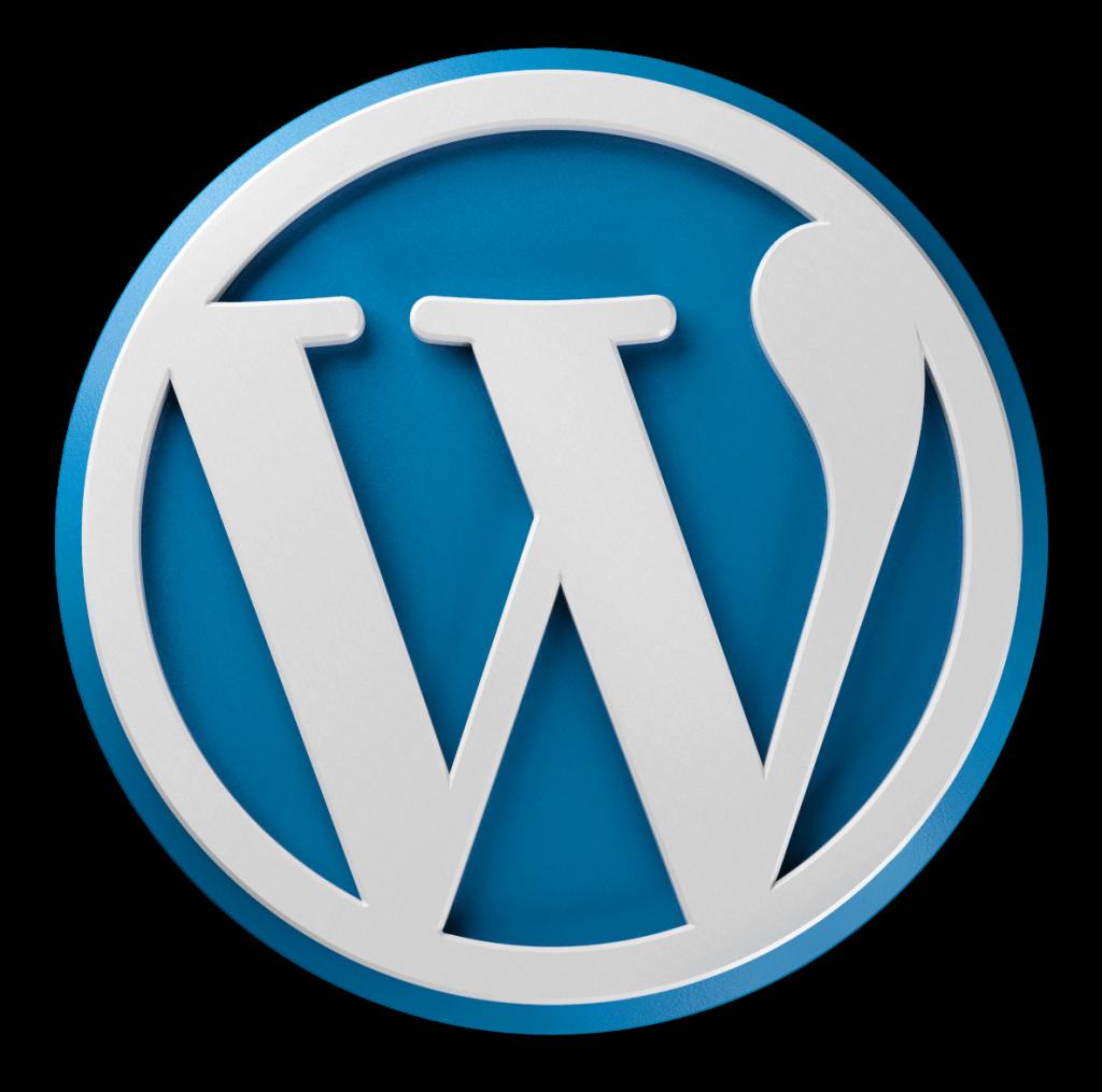 logo wordpress giustino romano consulente informatico napoli