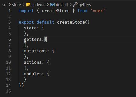 file index js impariamo ad usare vuex